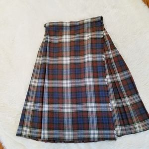 Vintage Made in Great Britain kilt